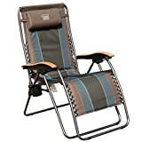 Timber Ridge Zero Gravity Locking Patio Outdoor Lounger Chair Oversize XL Padded Adjustable Recliner...