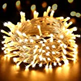 Ollny 200 LED String Lights with Remote and Timer, Christmas Fairy Lights for Bedroom Wall...