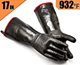 RAPICCA Griller Heat Resistant Insulated Cooking Gloves for Barbecue/Grill/Smoker/Fry Turkey/Oven...