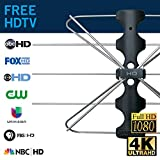 Winegard FreeVision FV-30BB Indoor and Outdoor Digital HDTV Antenna (4K Ultra-HD Ready, ATSC 3.0...