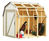 2x4basics Shed Kit with Barn Roof