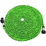 soled Expandable Garden Hose, Strongest Expanding Garden Hose on The Market with Triple Layer Latex...