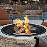 Sun Joe SJFP35-CS-STN Fire Joe 35' Charcoal Gray Cast Stone Fire Pit