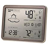AcuRite 75077A3M Wireless Weather Station with Large Display, Wireless Temperature Sensor and Atomic...