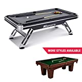 MD Sports BLL090_147M Titan Pool Table, Black, 7.5'