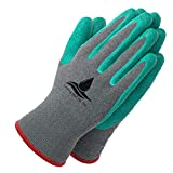 Garden Gloves for Women and Men - (2 pairs per package) - Super Grippy with Special Protective...