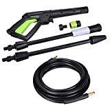 PowRyte Elite 2100 PSI 1.80 GPM Electric Pressure Washer, Electric Power Washer with Stepless Angle...