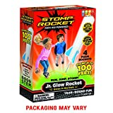 Stomp Rocket Jr. Glow Rocket, 4 Rockets and Toy Rocket Launcher - Outdoor Rocket Toy Gift for Boys...