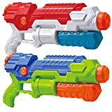 JOYIN 2 Pack Super Water Blaster Shoot Up to 36 Feet High Capacity Water Soaker Blaster Squirt Toy...