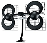 Antennas Direct Clearstream 4 TV Antenna, 70+ Mile Range, UHF, Multi-Directional, Indoor, Attic,...