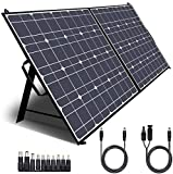 TWELSEAVAN 100W Portable Foldable Solar Panel Charger for Jackery Explorer 160/240/500 Power...