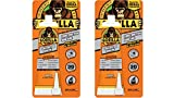 Gorilla 105991 Heavy Duty Construction Adhesive, 2.5 oz, White, (Pack of 2), 2-Pack, 2 Pack