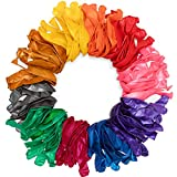 Nexci Party Balloons (100 Pack): Premium Quality Helium and Air 12 Inch Balloons with Assorted...