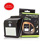 GR8 Goodz Summer Sale LED Motion Sensor Solar Light, Bright, Weatherproof, Wireless Security,...