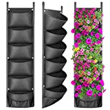 ANGTUO Vertical Hanging Garden Planter with 6 Pockets, New Layout Waterproof Wall Hanging Flowerpot...