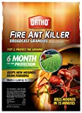 Ortho 0200310 Fire Ant Killer Broadcast Granules: Treats up to 5,000 sq. ft, Prevent New Mounds From...