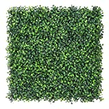 Sunnyglade 12PCS 20x20inch Artificial Boxwood Panels Topiary Hedge Plant, Privacy Hedge Screen UV...