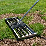 "Rocklin Industry Levelawn Tool | Level Soil or Dirt Ground Surfaces Easily | 30"" x 10"" Ground..."