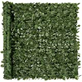 Best Choice Products Outdoor Garden 96x72-inch Artificial Faux Ivy Hedge Leaf and Vine Privacy Fence...