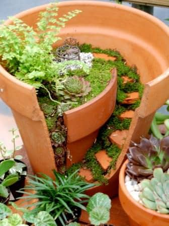 Mini Garden Flowers, Plants & Planters