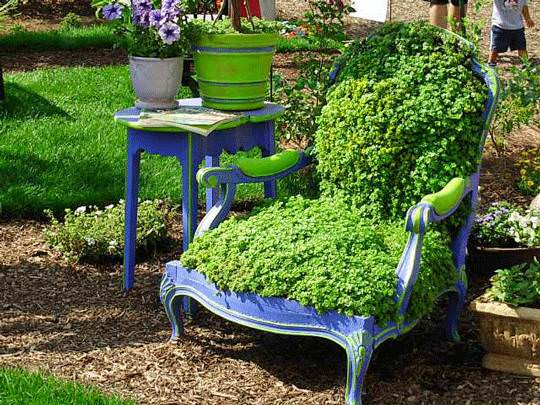 Poetic Vegetal Chair Patio & Outdoor Furniture