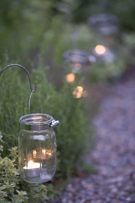 Garden Lights from Glass and Candles 2 - Outdoor Lighting - 1001 Gardens