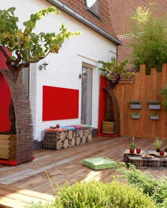Terrasse as a Living Room Patio & Outdoor Furniture