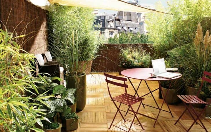 Urban Hidden Terrasse - patio-outdoor-furniture