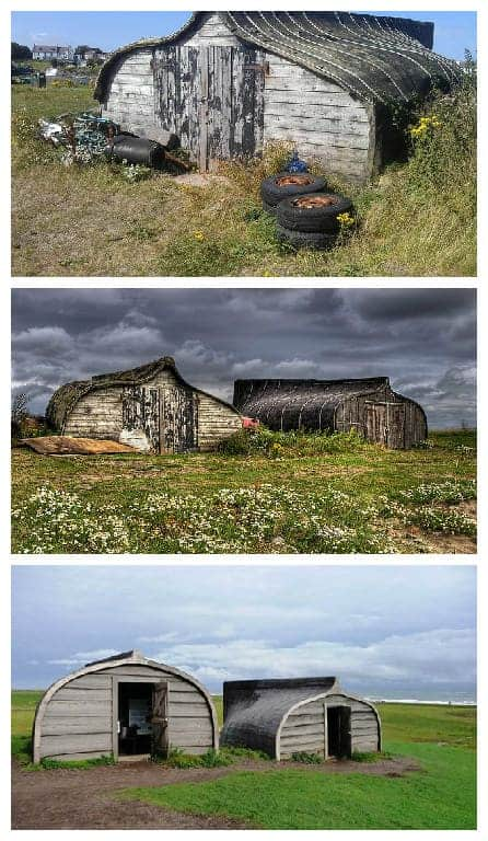 Old Boats Transformed Into Sheds - sheds-huts-treehouses