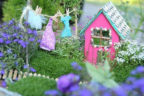 Miniature Garden Fairy House 1001 Gardens