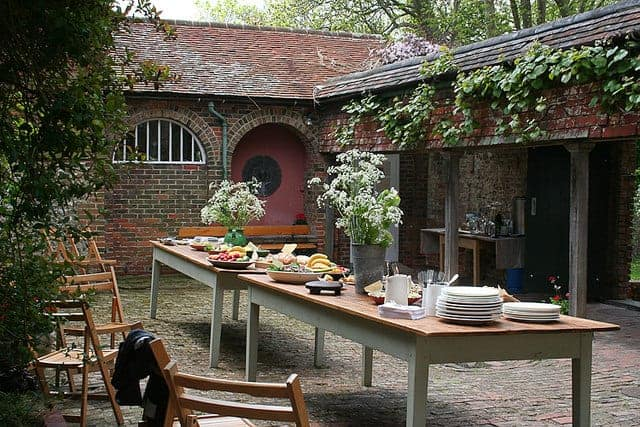 Perfect Place for Garden Lunch Patio & Outdoor Furniture