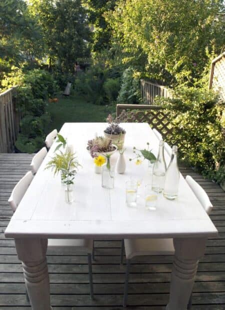Old Table Makeover for Your Terrace 1 - Patio & Outdoor Furniture