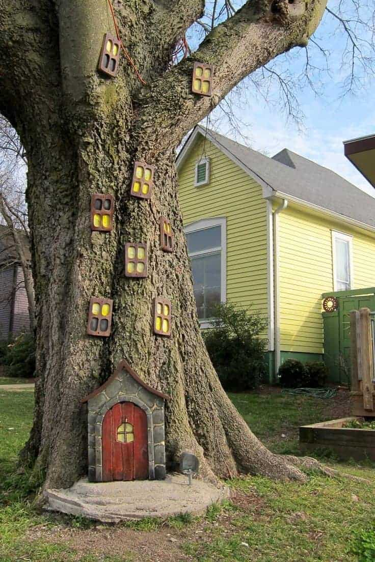 Elf House On A Tree 1001 Gardens