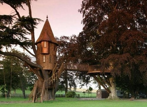 Nice Treehouses from around the World Sheds, Huts & Tree Houses
