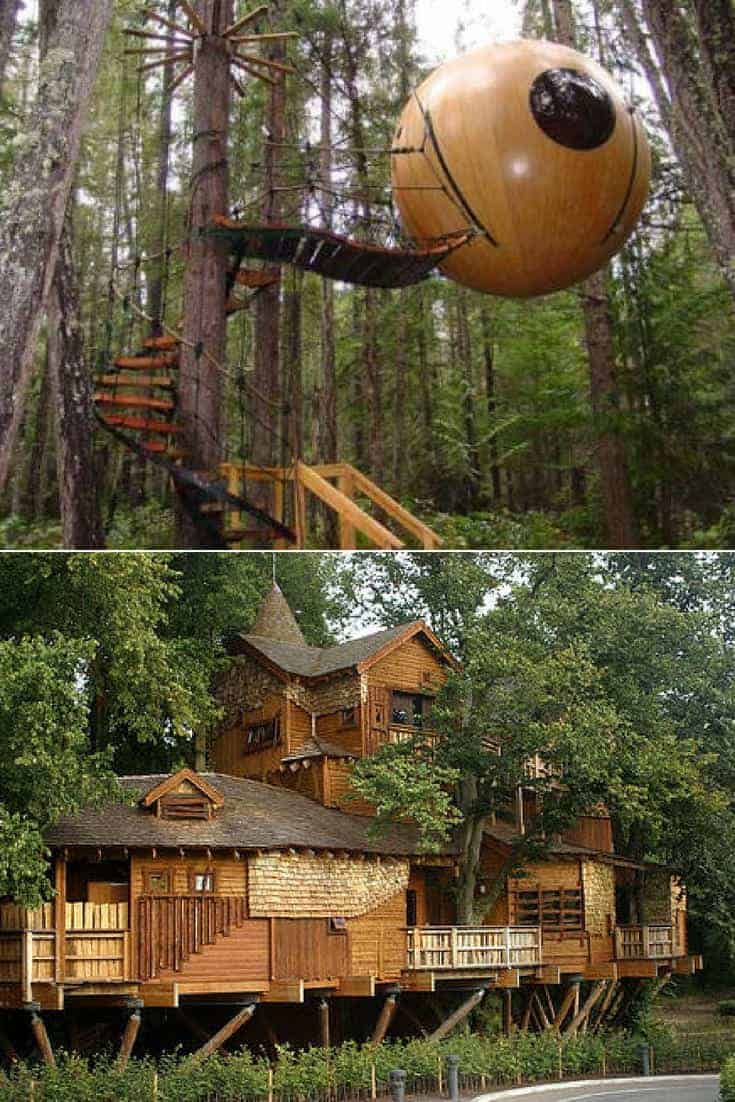 Nice Treehouses from around the World