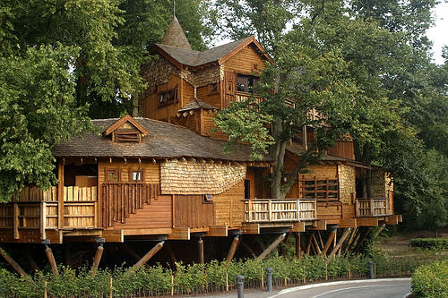 Nice Treehouses from around the World - sheds-huts-treehouses