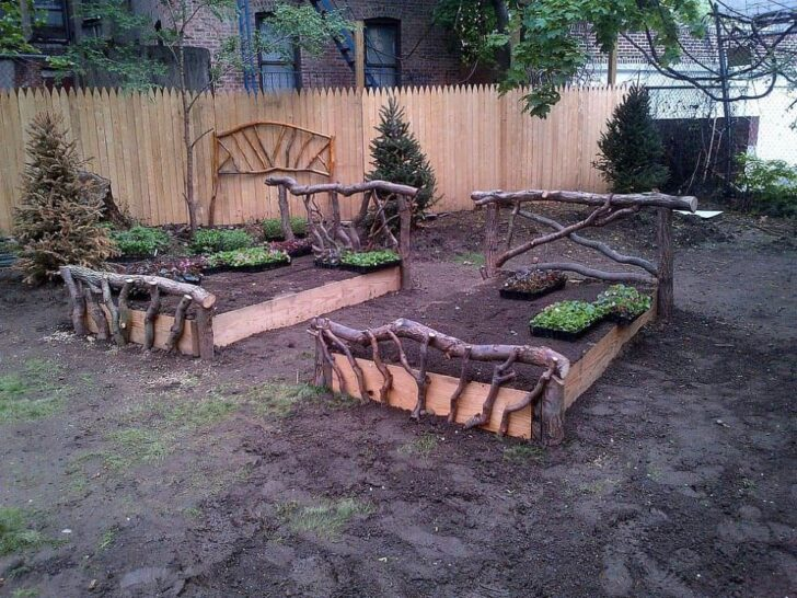 Raised Garden Beds - garden-decor