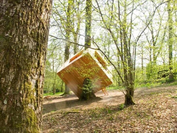 Sculptucabane Iii / Sculpted Hut Landscapes Sheds, Huts & Tree Houses