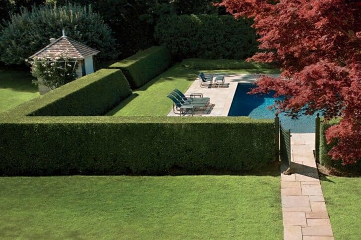 Hedges with Slopes - garden-decor