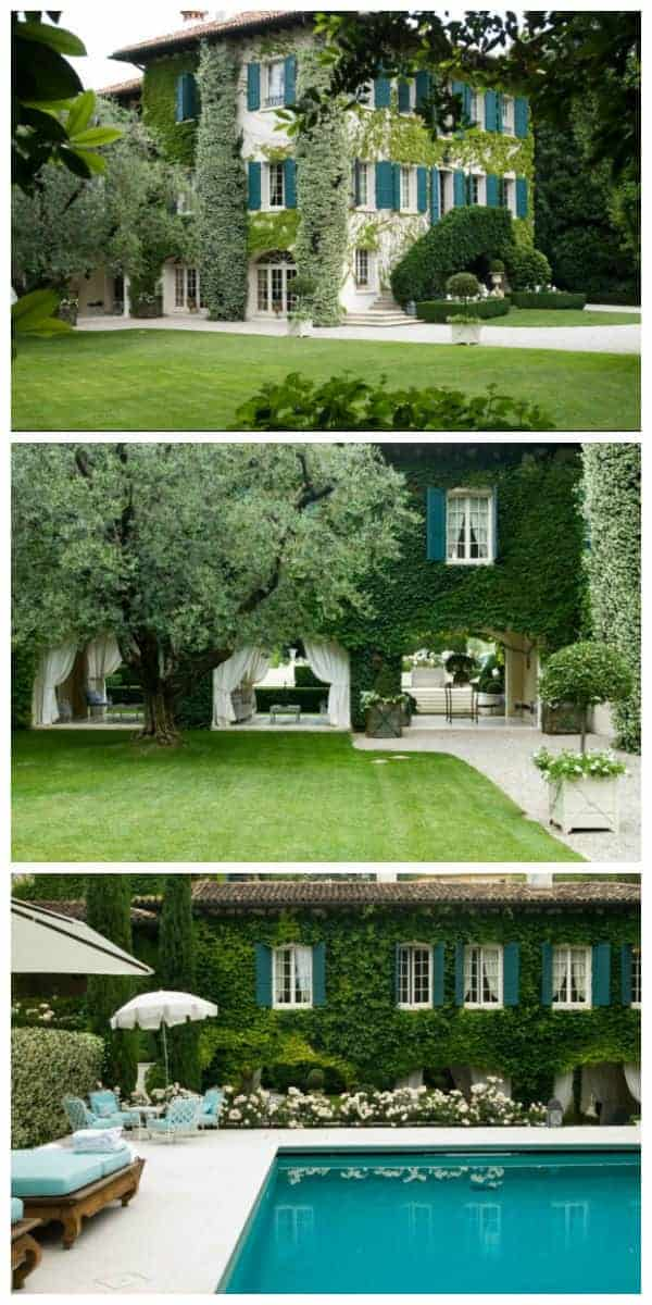 Beautiful Country House Landscape - landscaping