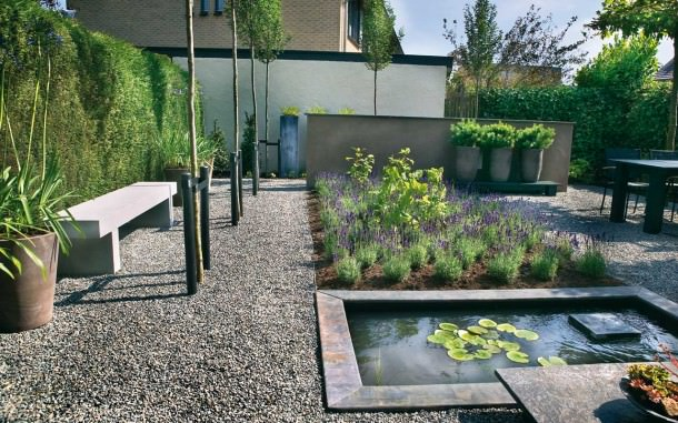 Gravel Patio Landscapes