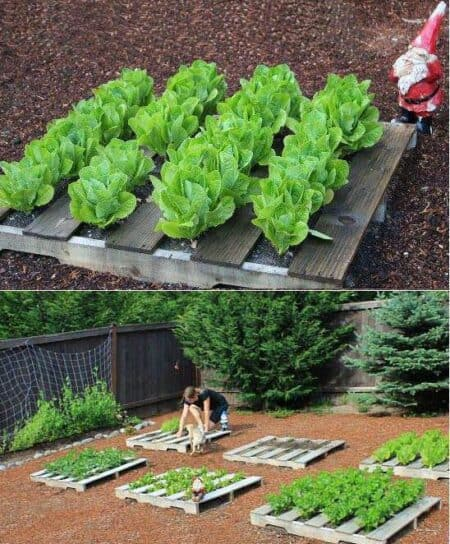 Really Neat Pallet Planters 7 - Pallets Projects & Furniture