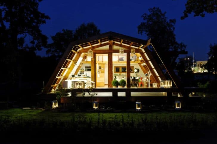 Small Zero Energy House - sheds-huts-treehouses, landscaping