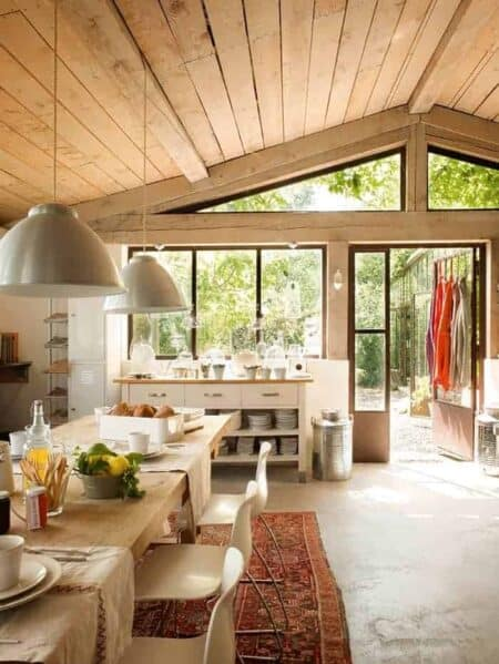 Bed and Breakfast Wood Patio in France
