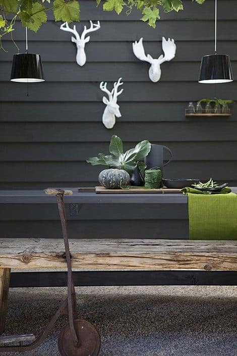 Green and Grey Inspirations - garden-decor