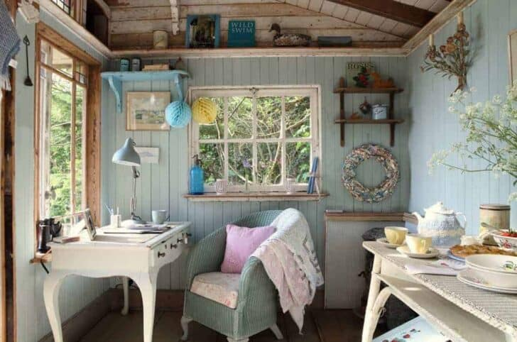 The Island Hideway (Uk) - sheds-huts-treehouses