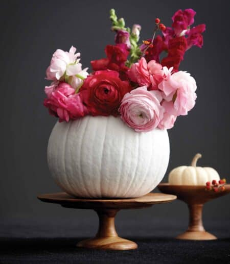 Pumpkin as Beautiful Centerpiece for Your Table