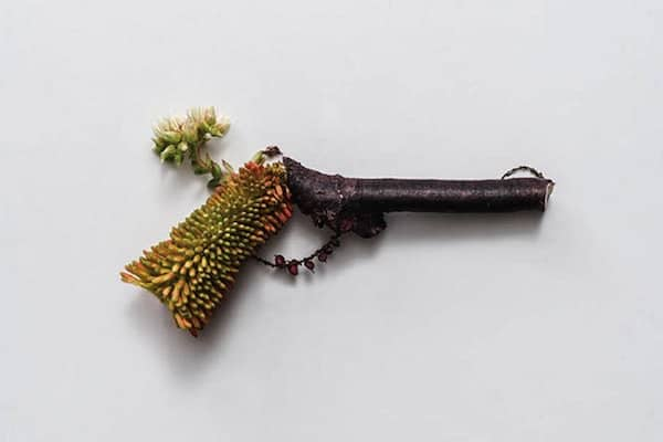 Harmless Organic Weapons Garden Decor