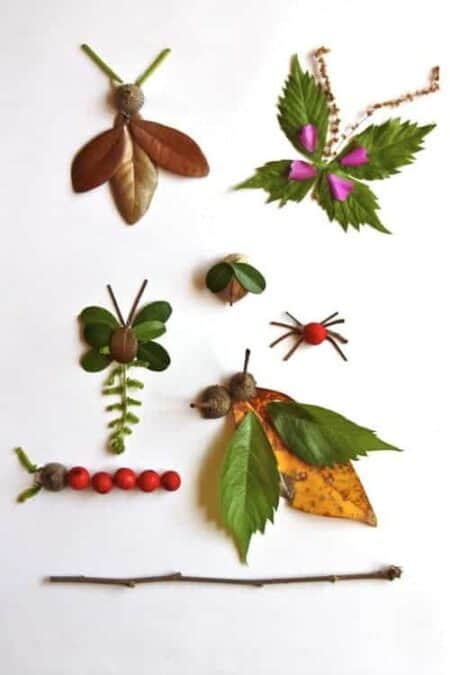 Diy Crafts for Kids : It's Autumn, Play with Nature ! 31 - Kids Playhouses & Playgrounds