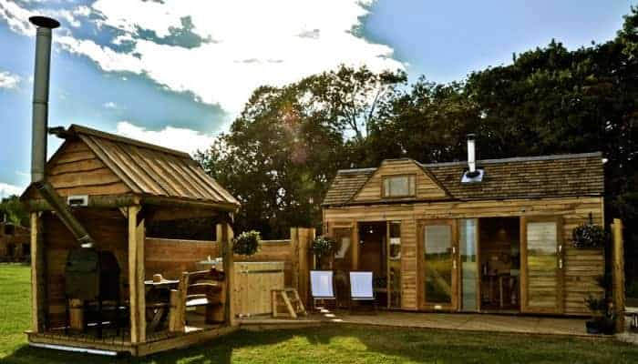 Tiny Wooden House Sheds, Huts & Tree Houses